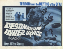 Destination Inner Space 1966 DVD - Scott Brady / Sheree North